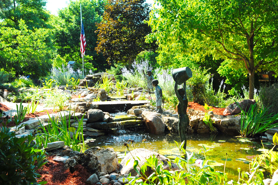 Ponds And Water Gardens Gallery Allison Landscaping