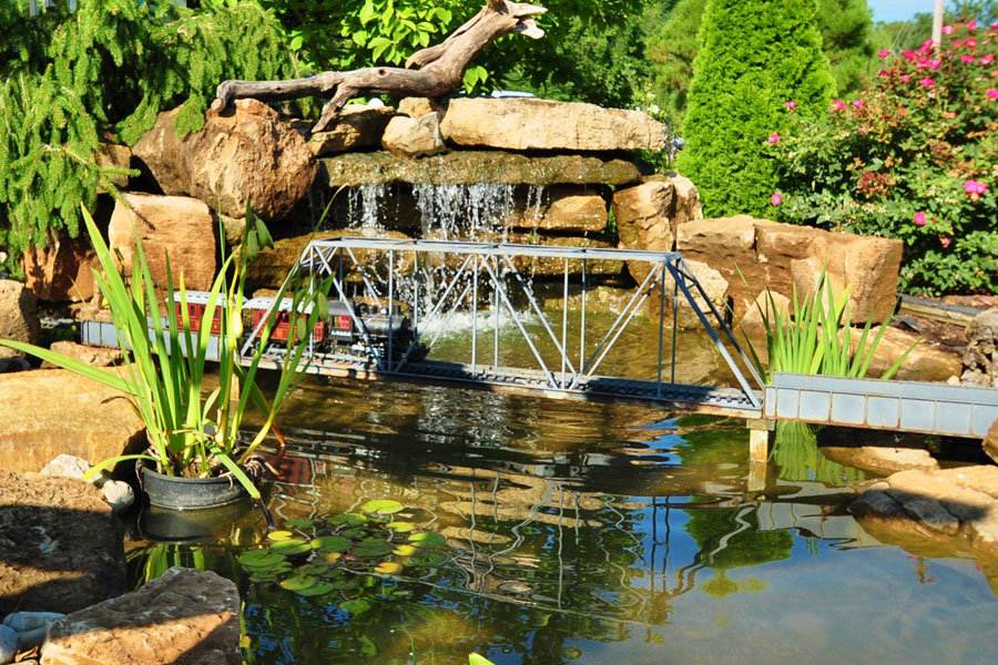 ... Streams Ponds, Water Gardens, Fountains, Natural Waterfalls, Pondless  Systems, Cascades, ...