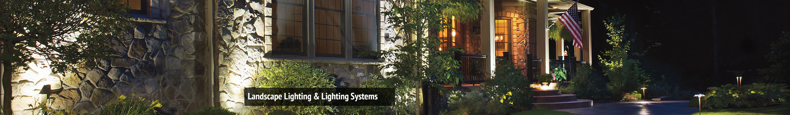 Landscape Lighting & Lighting Systems